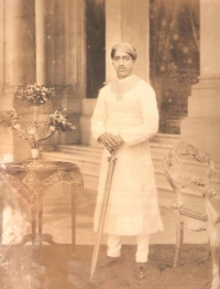 Yuvraj Pratapsinhrao Gaekwad of Baroda, circa 1920's.