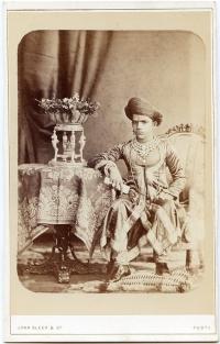 Sayajirao Gayakwwad III-1880