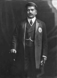Maharaja of Baroda -sayajirao Gaekwad III- 1910