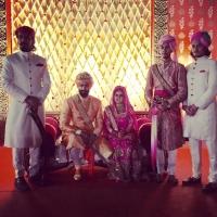 Kanwar Tejveer Singh of Jhadol (Mewar), Sardar Angad Singh, Rajkumari Aprajita Kumari of Bushahr, Kanwar Aanjneya Singh of Bissau & Kanwar Pranay Singh of Banswara