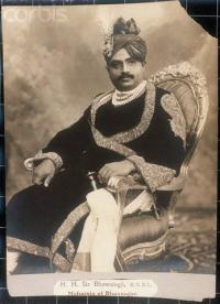 HH Maharaja Raol Sir Shri BHAVSINHJI II TAKHATSINGHJI, K.C.S.I