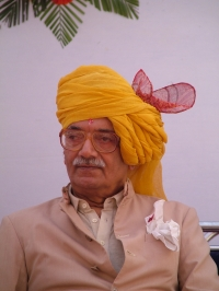Present Maharaja's Real Uncle Shivbhadrasinhji -Shiva Bapa - Mostly known Maharaja as well