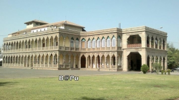 """Nilambaug Palace"" Royal palace of Bhavnagar Family"