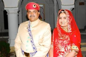 Maharaj Randhir Singh Ji with Ranisa Deependra Kumari