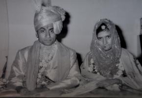 Thakur Saheb Narendra Singhji and Thakurani Saheb Narendra Kumari