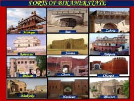 Forts of Bikaner State