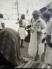HH Maharaja Ganga Singhji of Bikaner alongwith Raja Bhopal Singhji of Mahajan, 1943