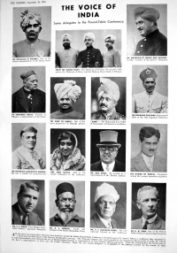 HH Maharaja Ganga Singhji of Bikaner, featured as member of Indian delegation to First Round Table Conference 1932