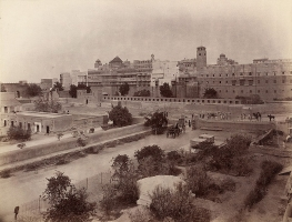 Old picture of Bikaner Fort
