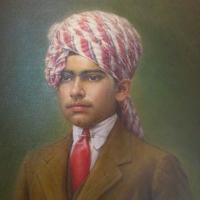 Portrait of Maharaj Bijey Singhji