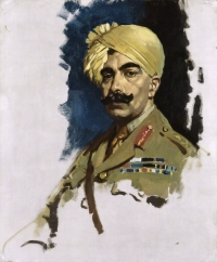 Portrait of Maharaja Sir GANGA SINGHJI Bahadur