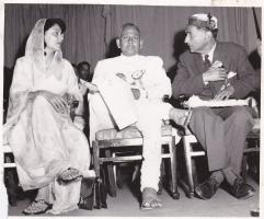 Maharani Gaytri Devi, Raja Ramgarh and Raja Sir Anand Chand