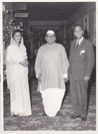 Maharani Gaytri Devi, Speaker Lok Sabha and H.H.Raja Sir Anand Chand