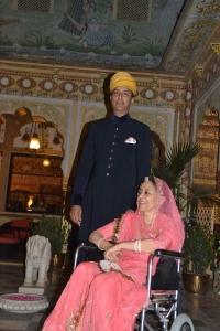 Thakur Pranai Singh ji of Bissau & Thakurani Purnima Kumari ji