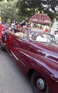 H.H Maharaja Saheb Jaipratap Sinhji and Yuvraj Sumer Sinh Ji Saheb at Rajkot Royal wedding (Chhota Udaipur)