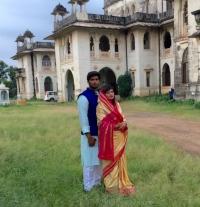 Yuvraj Sumer and his wife Yuvrani Nargis Ji