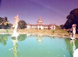 Front View of Kusum Vilas Palace Chhota Udepur