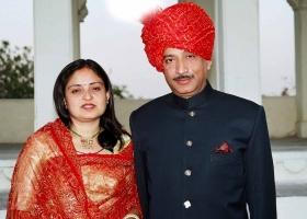 Kumar Shree Falgunsinhji Jhala and Rani Hemangini Devi