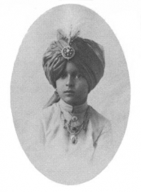 Maharajkumar Indrajitendra Bhup at childhood