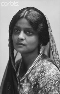 Maharani Indira Devi in 1919
