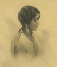 Maharani Indiraraje of Cooch Behar, circa mid 1920s