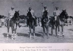 H.H Cooch Behar, Brig Hesky Begg, H.H Jaipur, Maharajkumar Jai Singh