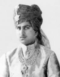 HH Maharana Sri PRITHVIRAJSINHJI BHAWANISINHJI Sahib Bahadur, Maharana of Danta 1948-1989