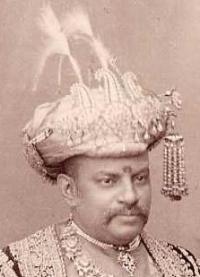 Hon. Maharajadhiraja Sir RAMESHWAR SINGH Bahadur
