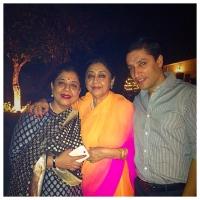 Rani Uma Kumari Patiala, Mahima Kumari Patiala and Kunwar Tejinder Singh