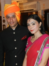 Kunwar Tejinder Singh and Rohini Singh