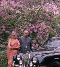 Rawat Nahar Singh ji and his wife Rani Bhuratna Prabha Kumari