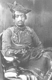 H.H. Raja Shrimant Narayanrao (Dada Sahib) Pawar, Raja of Dewas Junior 1864-1892