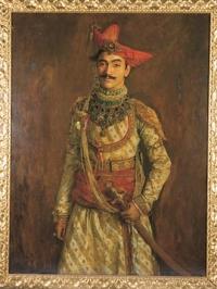 HH Maharaja Tukoji Rao III Puar of Dewas Sr