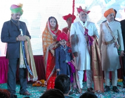 Coronation ceremony of Maharaja Hemendra Singh Puar held on 15th January 2015