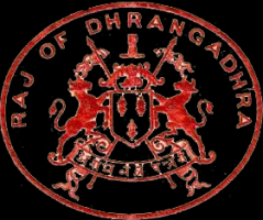 Emblem of Raj of Dhrangadhra