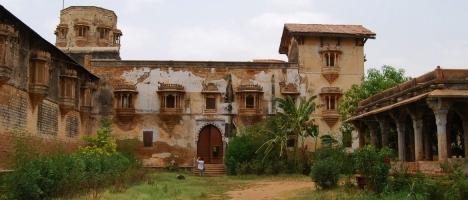 Halvad Palace wing