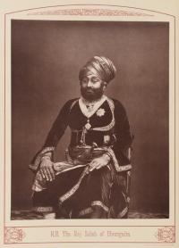 Raj Sahib MANSINHJI II RANMALSINHJI