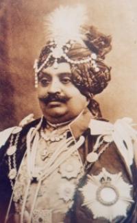 Major HH Maharana Shri Maharaja Shri Raj Sir GHANSHYAMSINHJI AJITSINHJI Sahib Bahadur