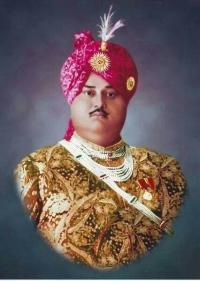 H.H. Thakore Saheb Shri Chandrasinhji Dipsinhji Saheb