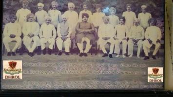 Last Cabinate of Shree Chandrasinhiji Takor Saheb Of Dhrol