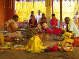 Janeu Ceremony of Yuvraj Janmejay Chandra Mardaraj Harichandan (Dompada)