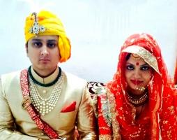 Yuvraj Janmejay Chandra Mardaraj Harichandan & Yuvrani Harshita Singh of Nilgiri (Dompada)