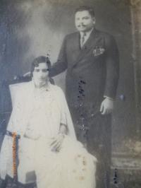 Raja A.Mansingh B.Ray with Rani Pritam kumari
