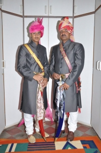 Thakur Abhimanyu Singh ji Falna and Kunwar Adityaraj Singh