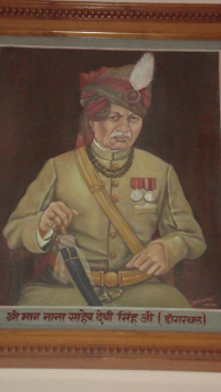 Nana saheb Devi singh ji of Dangarthal