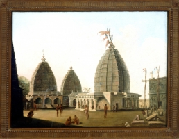 Baidyanath Temle Oil on canvas painting by William Hodges, 1782