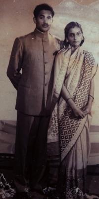 Maharaja Bahadur Pratap Singh and Maharani Pratibha Manjari Devi of Gidhaur