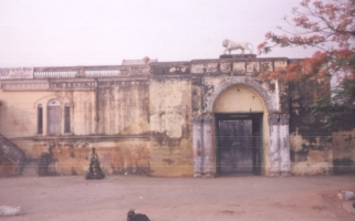 Main Gate of Fort Gidhaur