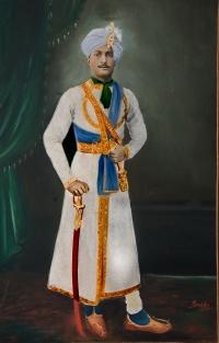 Rajkumar Digvijay Singh, grandson of Maharaja Bahadur Shiv Prasad Singh