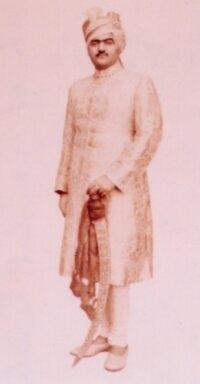 HH Maharajah Shri VIKRAMSINHJI BHOJRAJJISINHJI Sahib